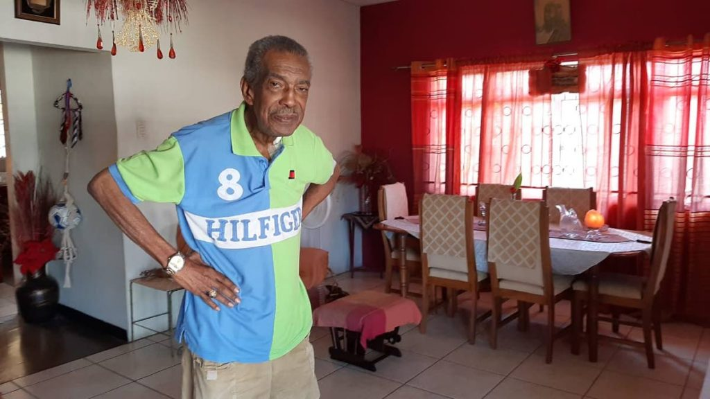 Former TT captain Sedley Joseph is pictured here at his home. Joseph died on Monday. He was 80. - Photo courtesy Shaun Fuentes