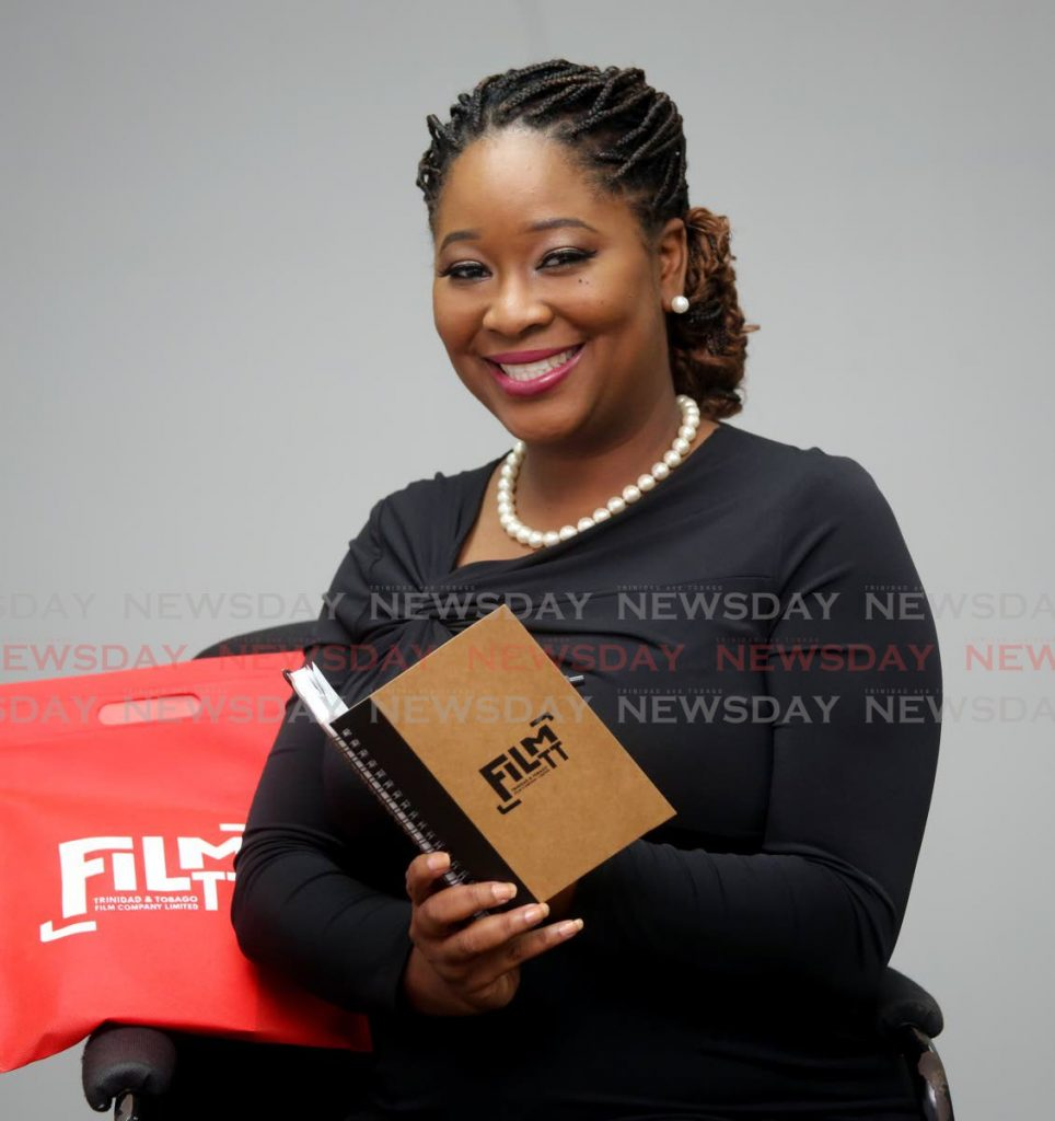 FilmTT general manager Leslie Ann Wills-Caton plans to boost the filmmaking industry with more local content and an outreach to international producers. - SUREASH CHOLAI