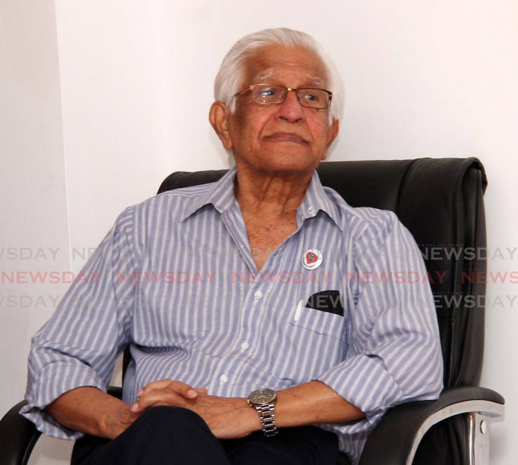Former prime minister Basdeo Panday    - Vashti Singh