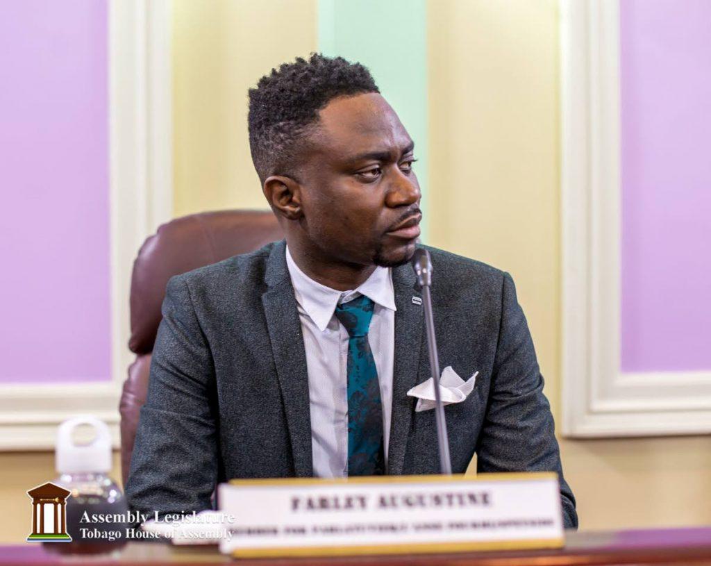 THA assemblyman Farley Augustine. PHOTO COURTESY THE THA -