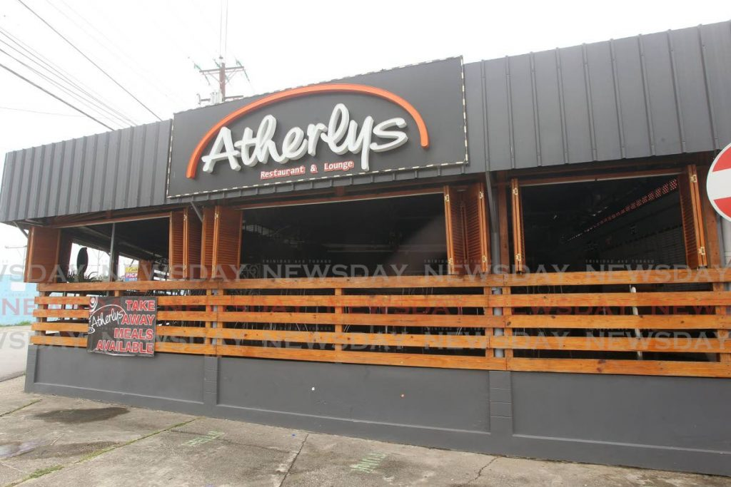 Atherlys restaurant and bar, Cipero street San Fernando Photos by Lincoln Holder