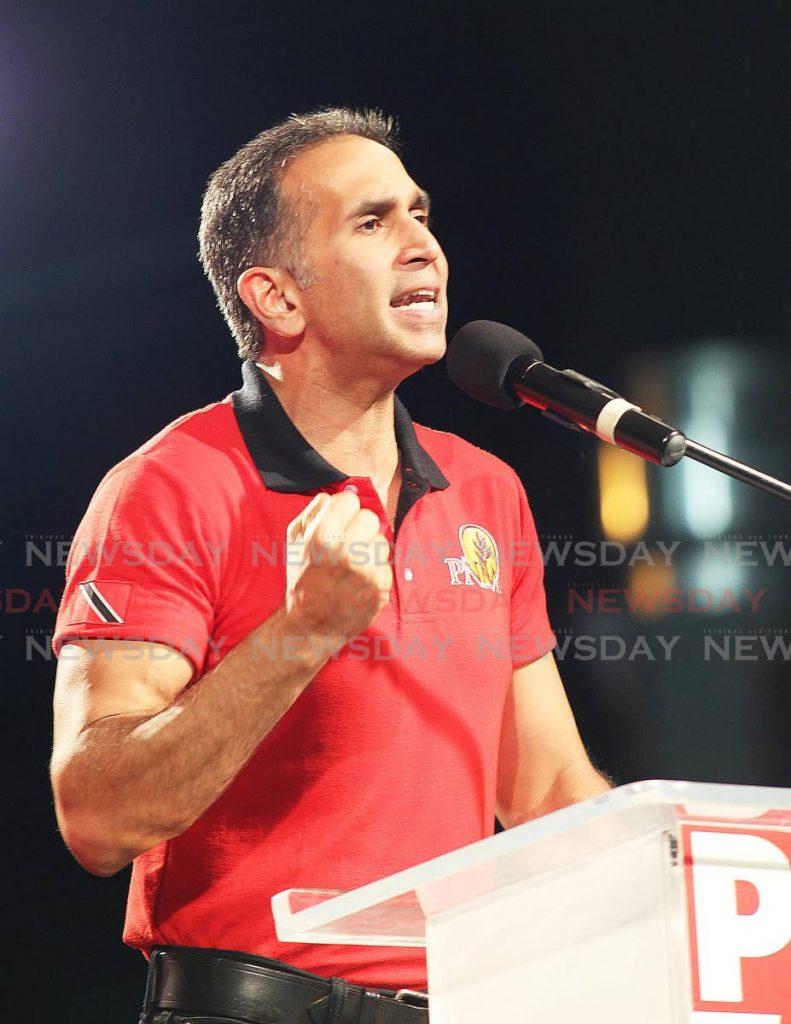 PNM candidate Faris Al-Rawi. -