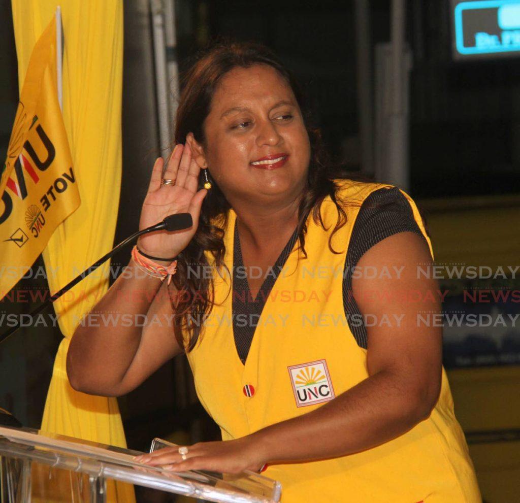 Former Couva North MP Ramona Ramdial. -