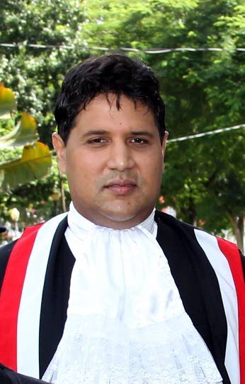 Justice Frank Seepersad. -