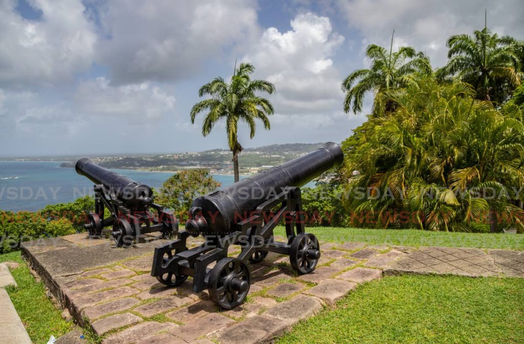 Cannons located  Fort King George,  Scarborough, Tobago. - JEFF K MAYERS