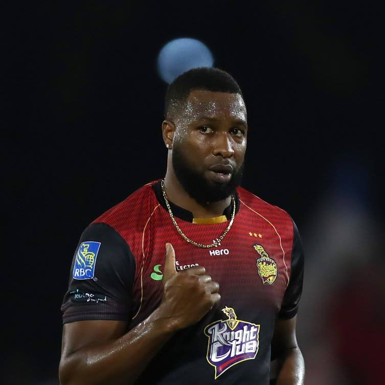 Trinbago Knight Riders captain Kieron Pollard during a 2019 Hero CPL match. PHOTO COURTESY CPL T20. -