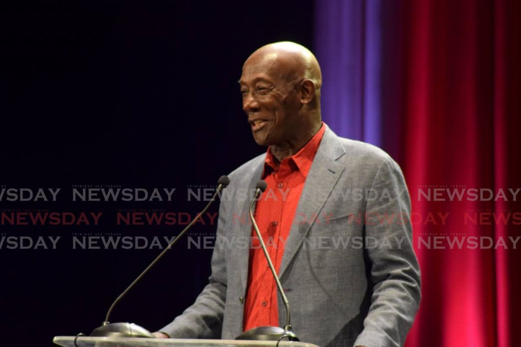 Prime Minister Dr Keith Rowley. -