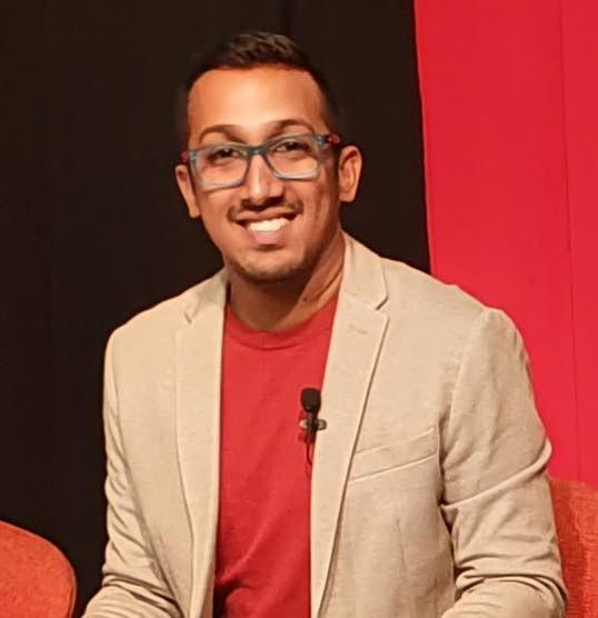 Political analyst Shane Mohammed  -