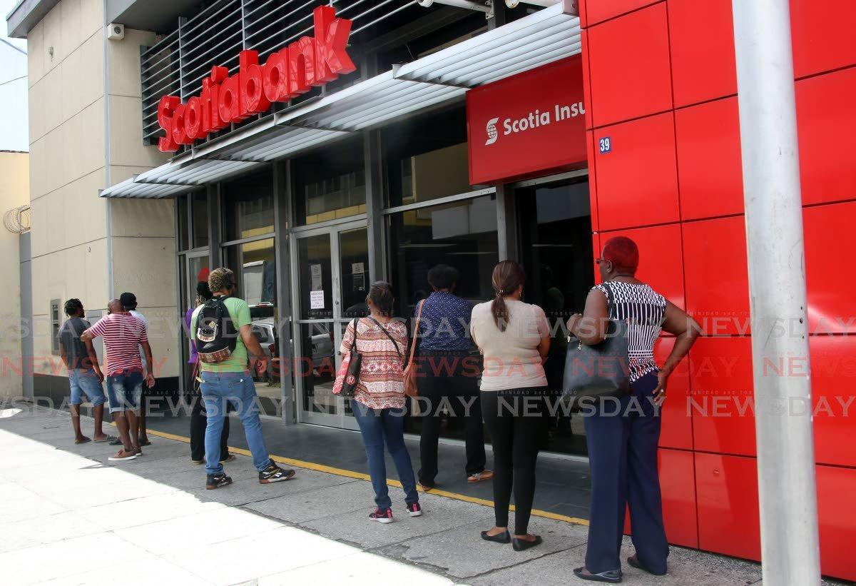 Scotiabank, Sagicor discontinue insurance sale - Trinidad and Tobago Newsday