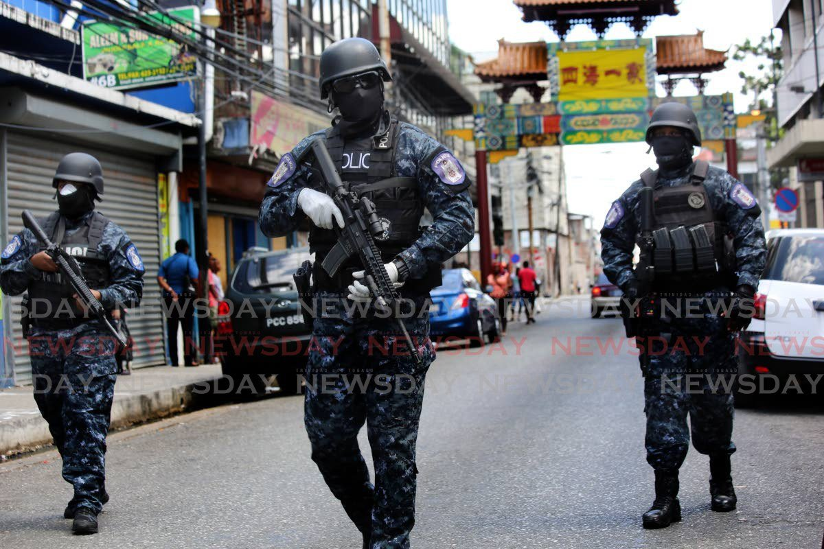 Police powers of the past - Trinidad and Tobago Newsday