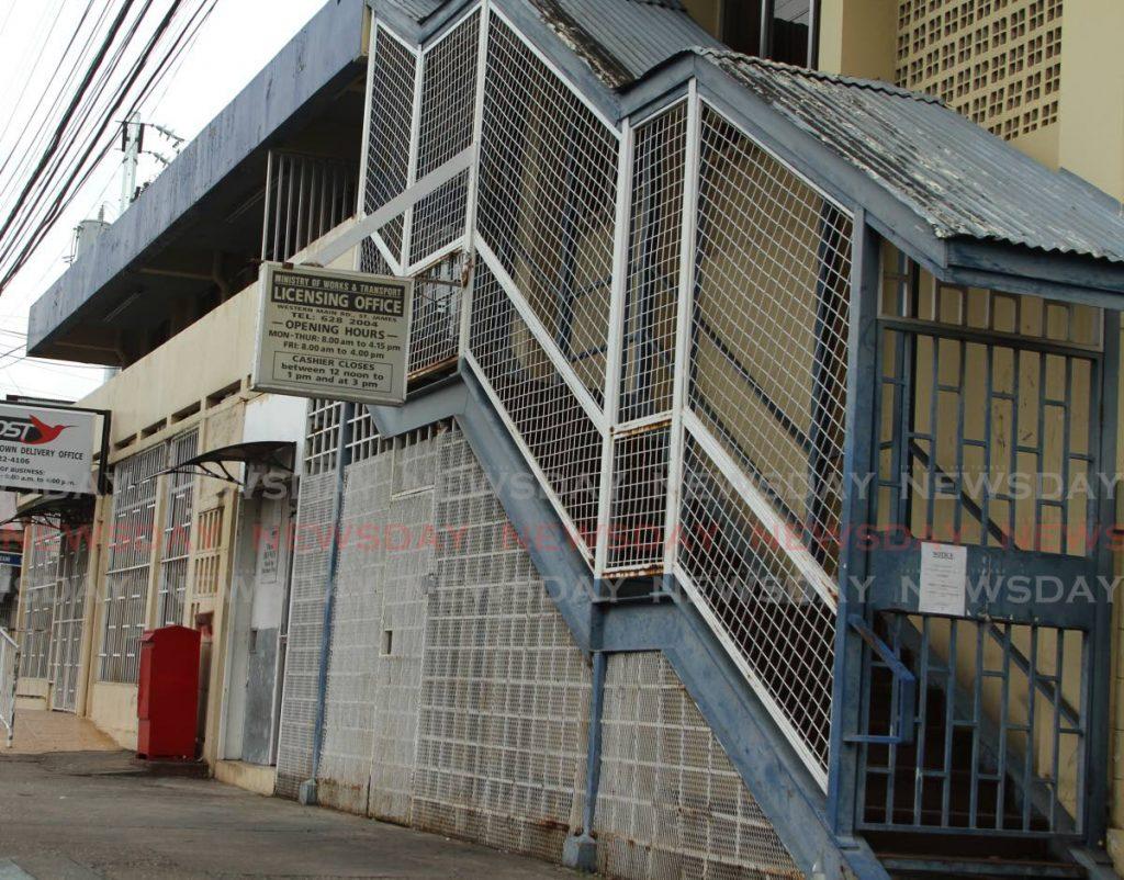 Licensing Office, St James, Port of Spain.  - Ayanna Kinsale
