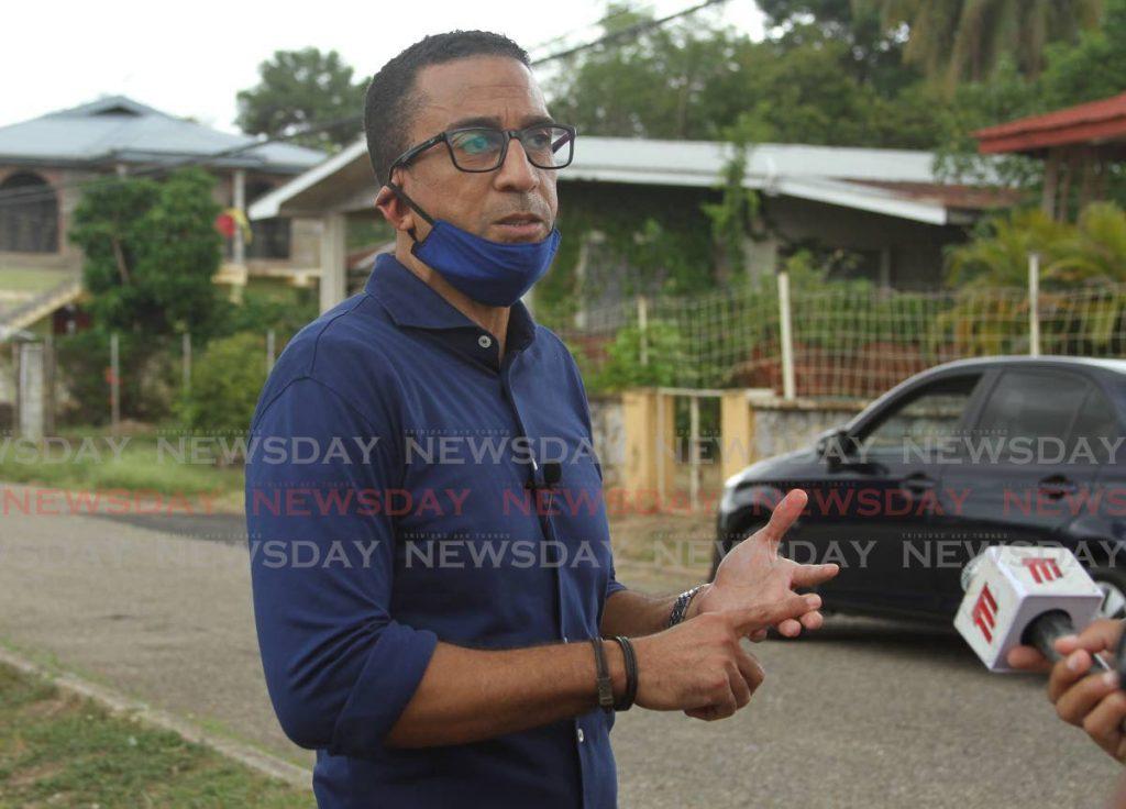 UNC Tunapuna candidate David Nakhid