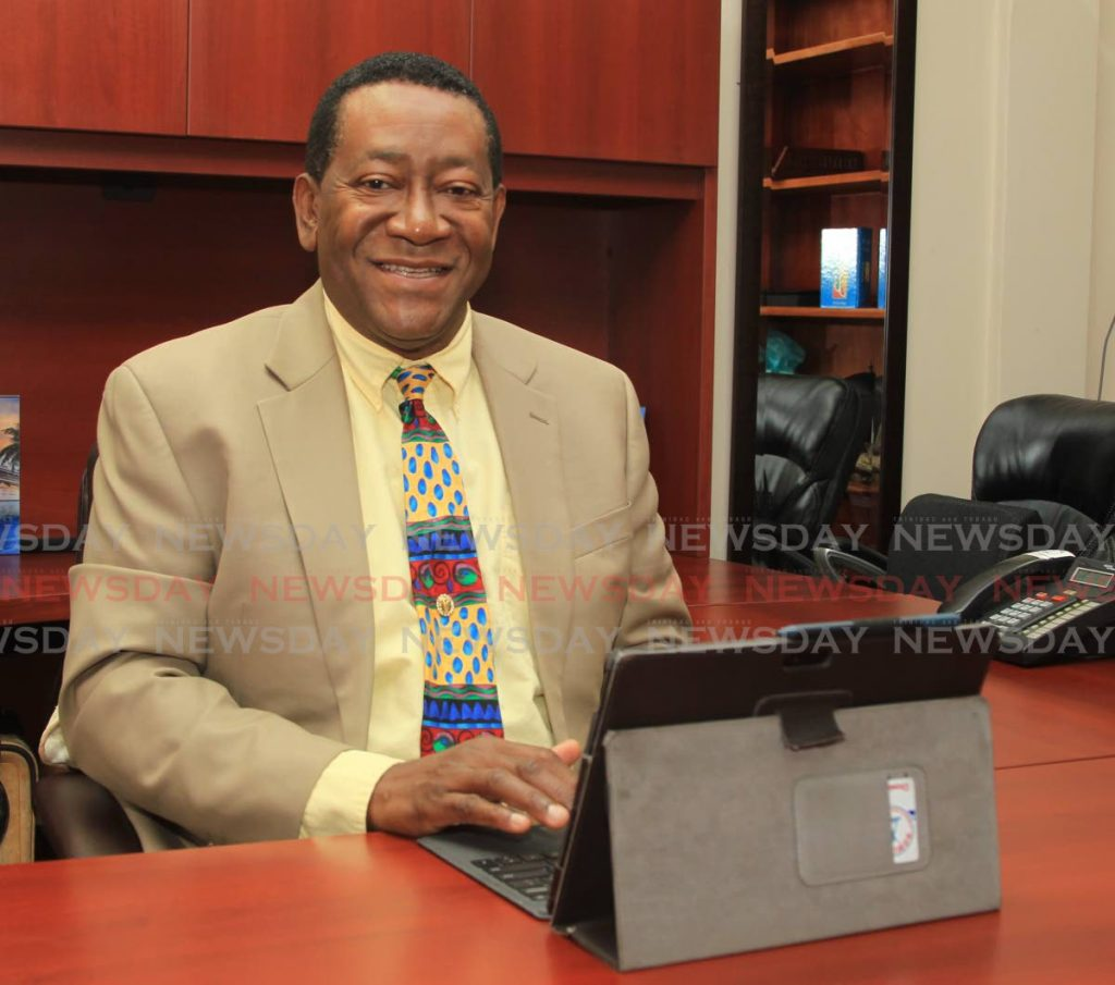 Tobago Business Chamber chairman Martin George  -