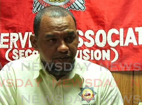 Leo Ramkissoon, president of the Fire Services Association. FILE PHOTO -