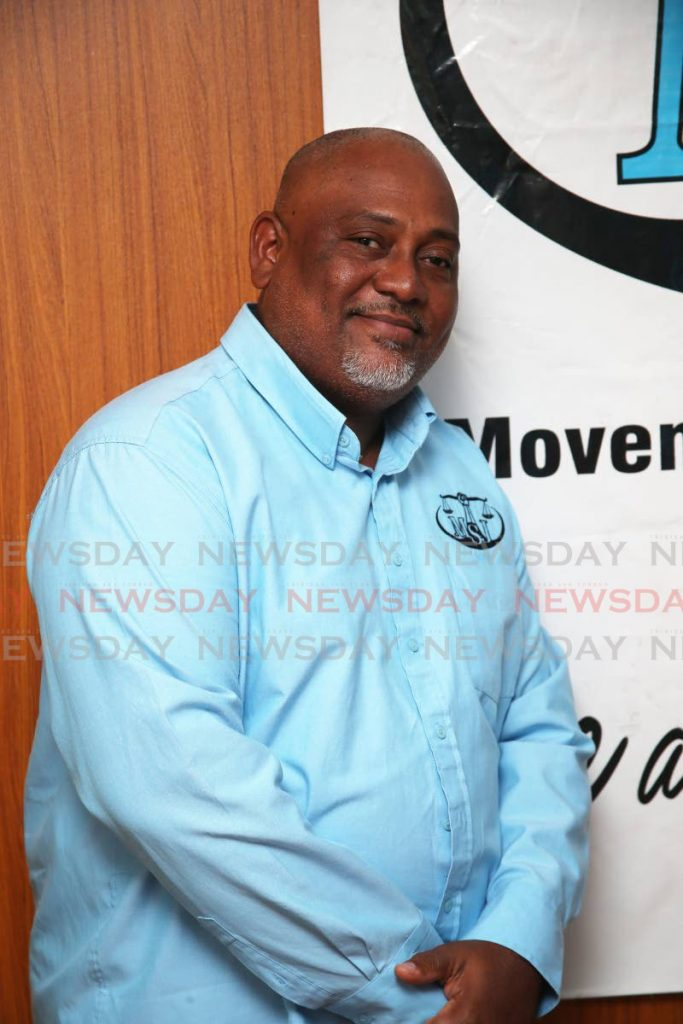 MSJ candidate for Point Fortin Ernesto Kesar. -