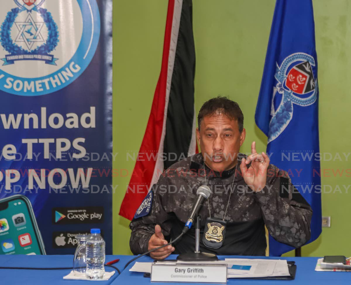 Griffith: My language is to protect my officers - Trinidad and Tobago Newsday