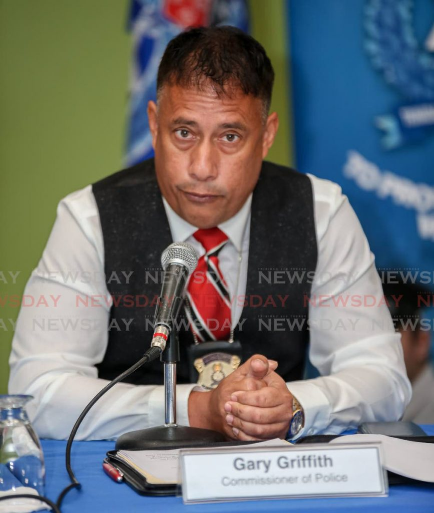 Police Commissioner Gary Griffith PHOTO BY JEFF MAYERS -