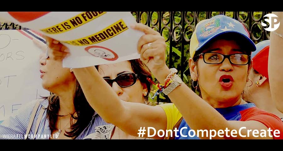 The documentary features protests from 2015, when Venezuelans living in TT protested the visit of Venezuelan President Nicolas Maduro to Trinidad.  -