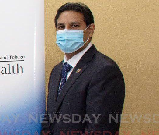 Chief Medical Officer Dr Roshan Parasram.  -