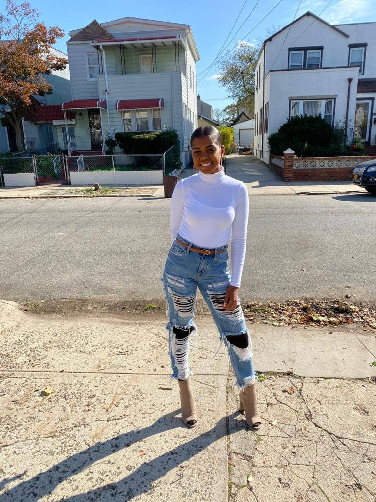 The youngest of five children, Kayla Bostic says her family supports and encourages her to create more online content. Photo courtesy Kayla Bostic -