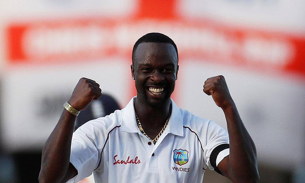 Kemar Roach became the ninth West Indies bowler to get 200 wickets in Test cricket. -
