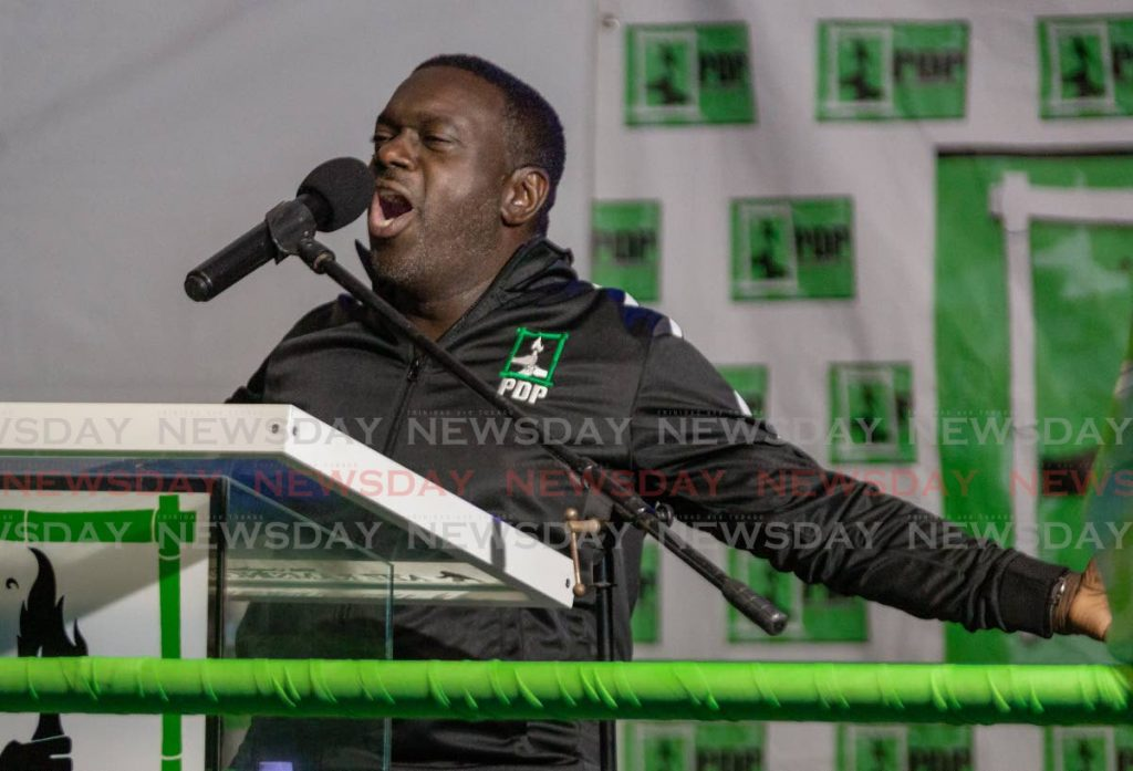PDP political leader WatsonDuke.  PHOTO BY DAVID REID  -