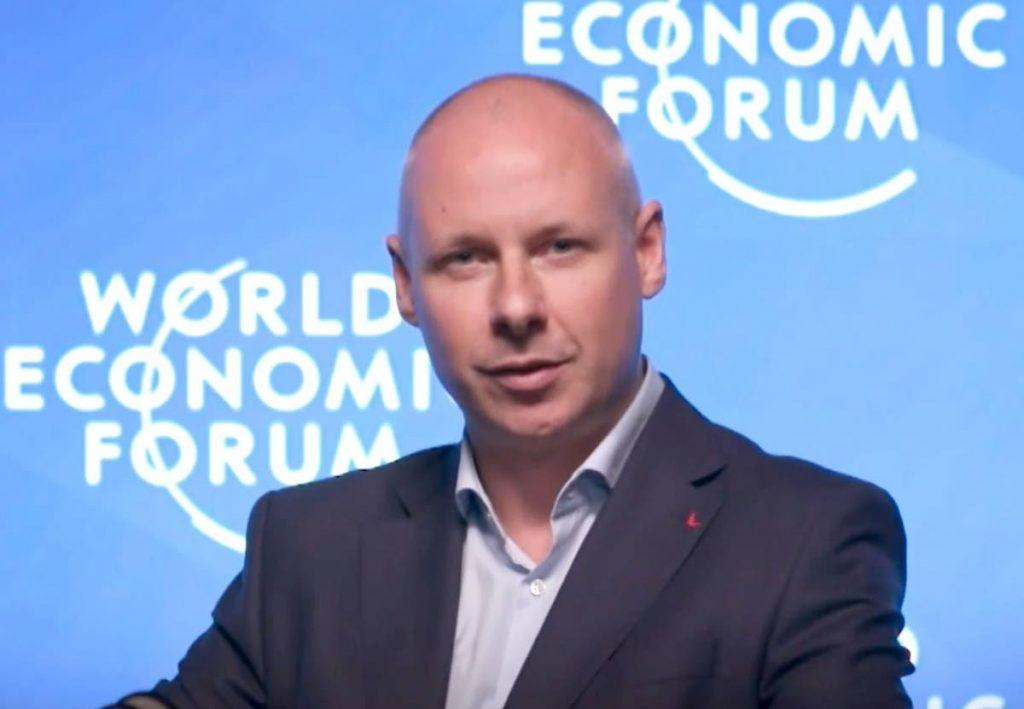 Derek O'Halloran, head of Shaping the Future of Digital Economy and New Value Creation, World Economic Forum. -