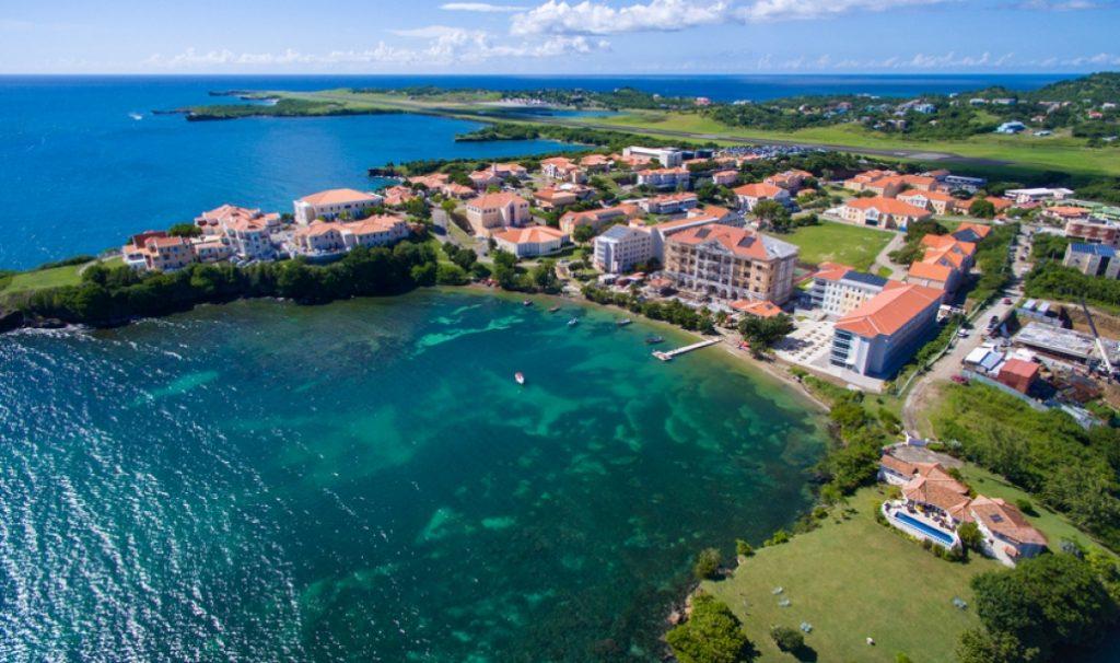 St George's University, Grenada   Photo source: sgu.edu