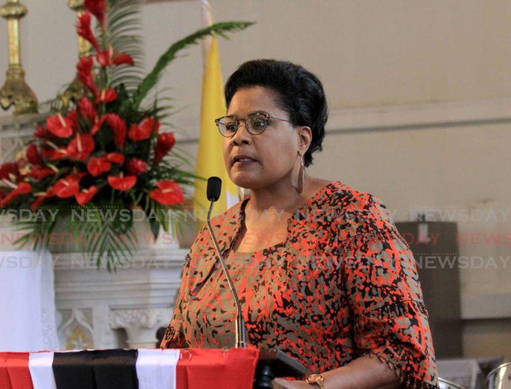 President Paula-Mae Weekes - Ayanna Kinsale