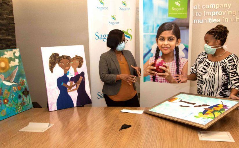 Sagicor, Chosen Hands support youths