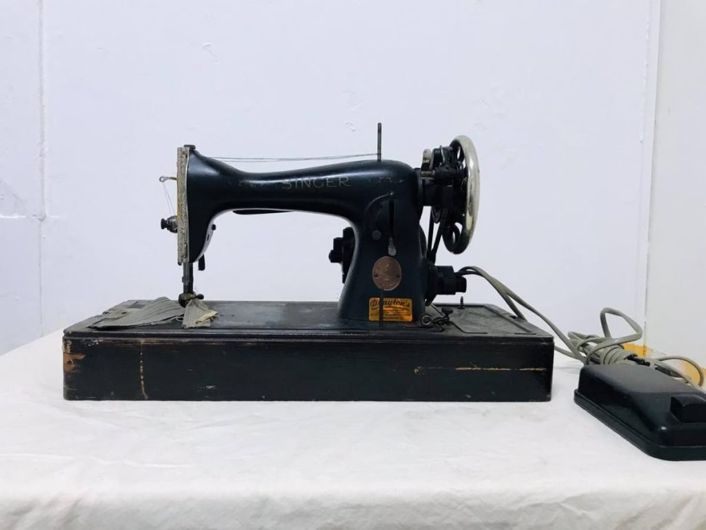 Early 20th century sewing machine from the 1920s.  - Photo courtesy Zum-Zum Children's Museum