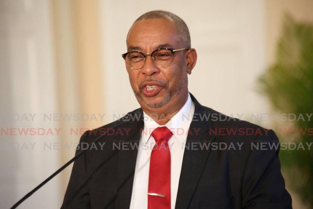 Minister of Labour Stephen McClashie. - Sureash Cholai