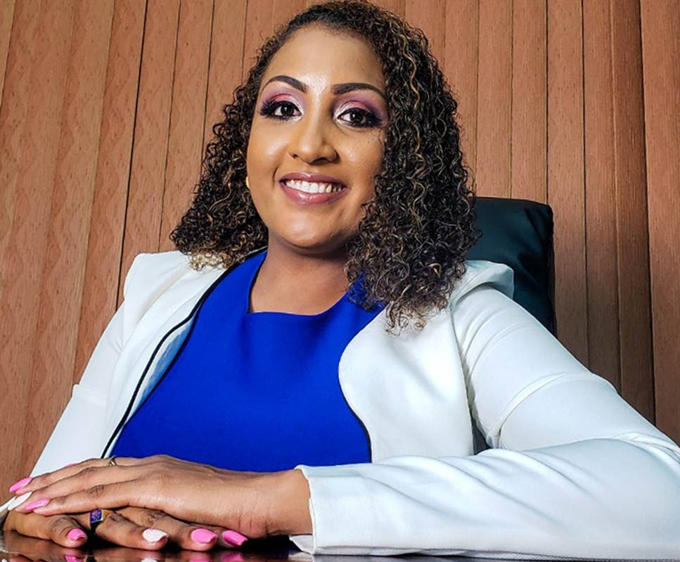 Tabaquite MP Anita Haynes studied finance for the first year and a half at St John's University in New York, but changed her major because she was not happy, switching instead to politics. PHOTO by ederson ramsundar - Courtesy Anita Haynes