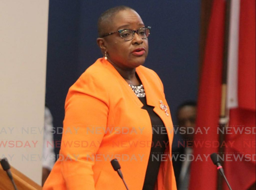 Planning and Development Minister Camille Robinson-Photo by Sureash Cholai