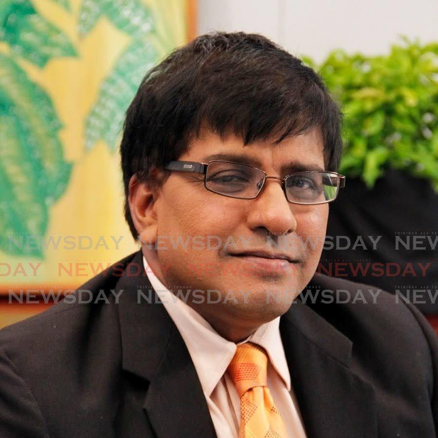 Political scientist Dr Bishnu Ragoonath.  -