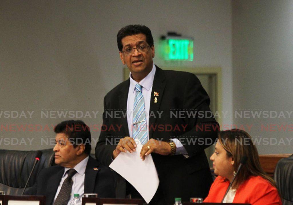 Mayaro MP Rushton Paray. -