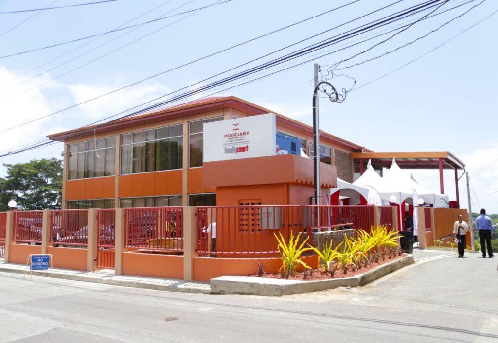 The Family Court building in Scarborough, Tobago. - THA PHOTO