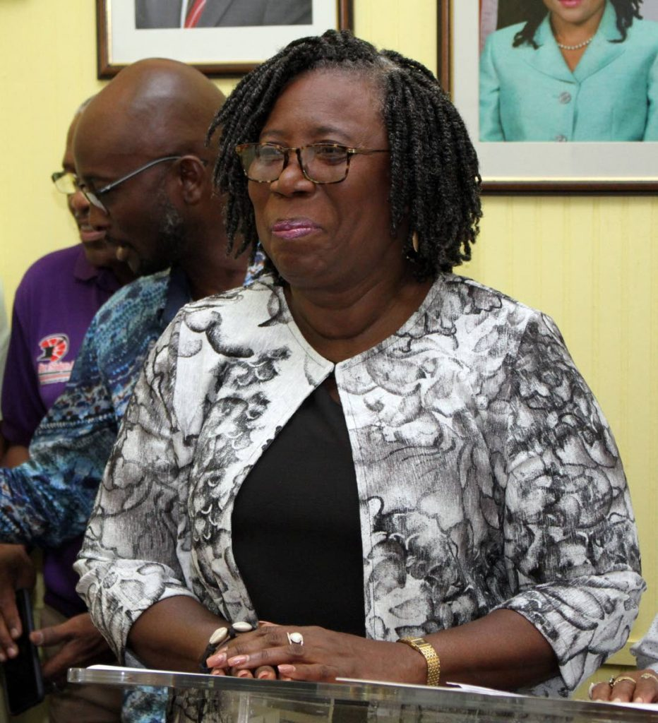 Pan Trinbago president Beverly Ramsey-Moore. - ANGELO_MARCELLE