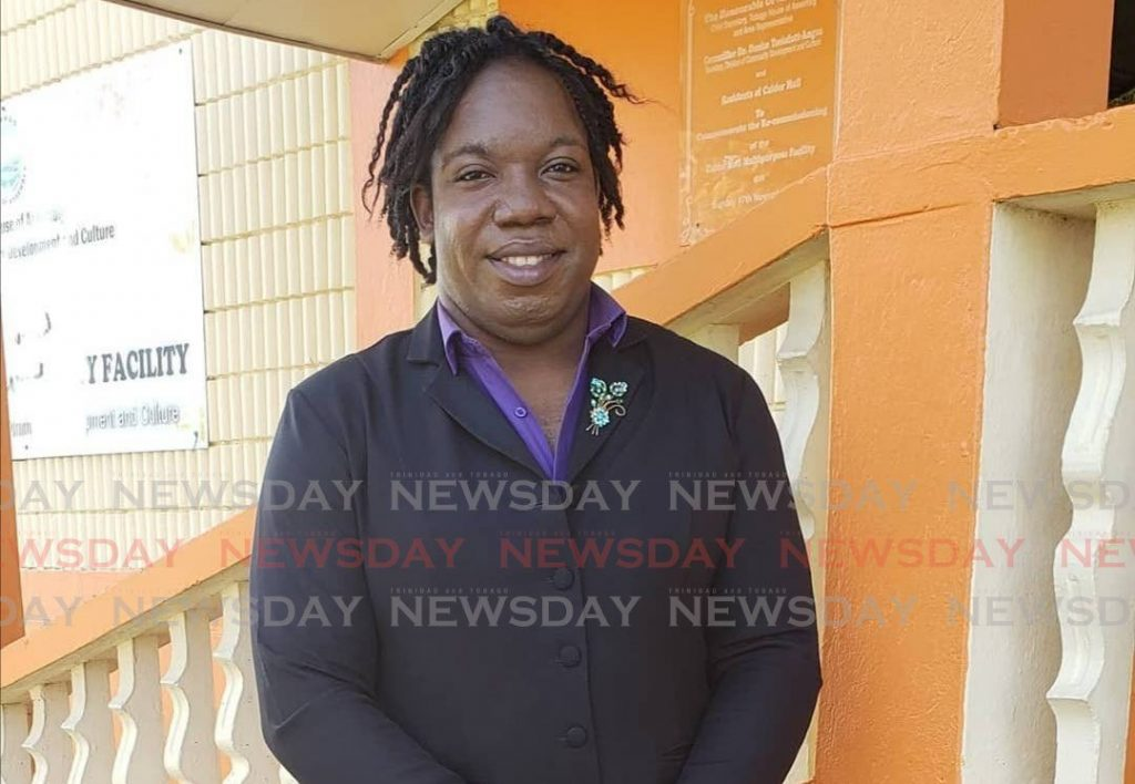 Unity of the People's Tobago West candidate Nickocy Phillips