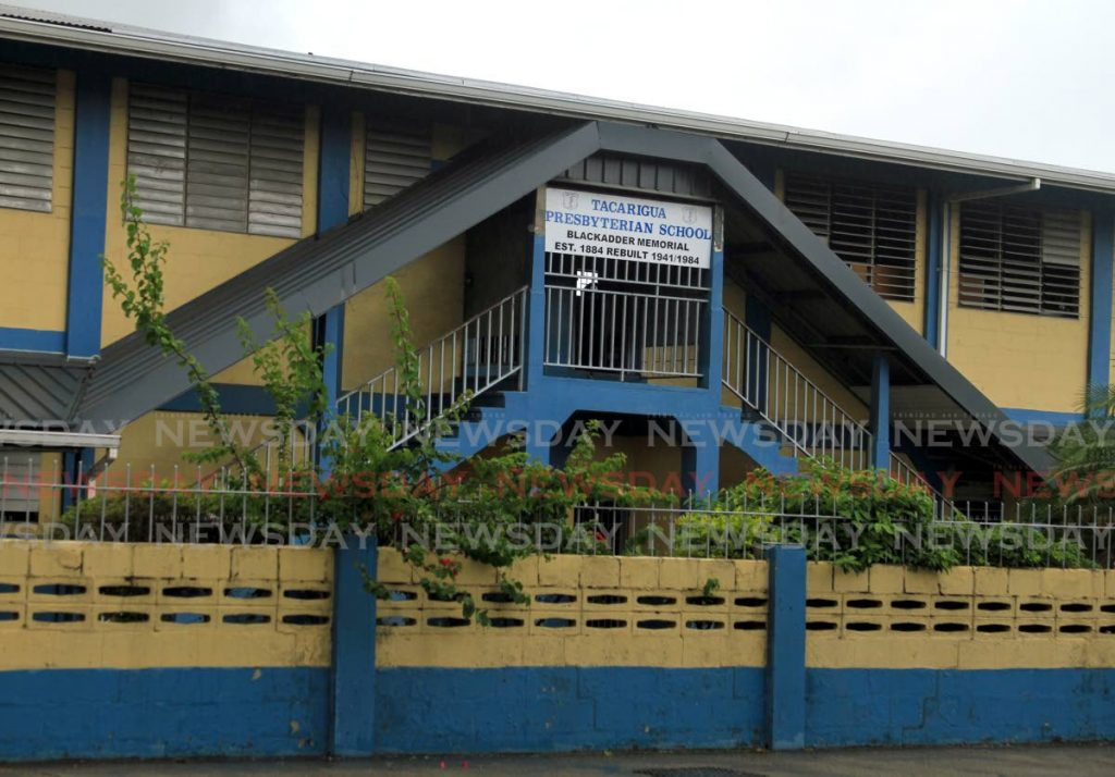 Tacarigua Presbyterian Primary School, one of three which closed because of covid19 after reopening for SEA students to prepare for the August 20 exam. - Ayanna Kinsale