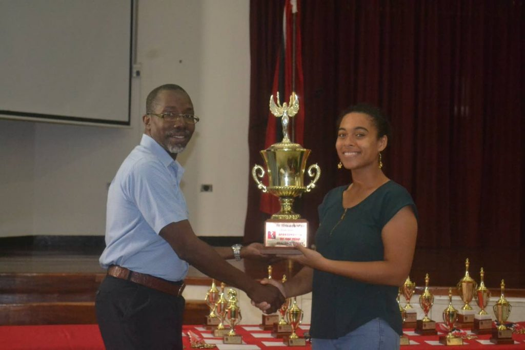 TT's Gabriella Johnson, right, won her two games at Friday's opening round of the Online Chess Olympiad. -