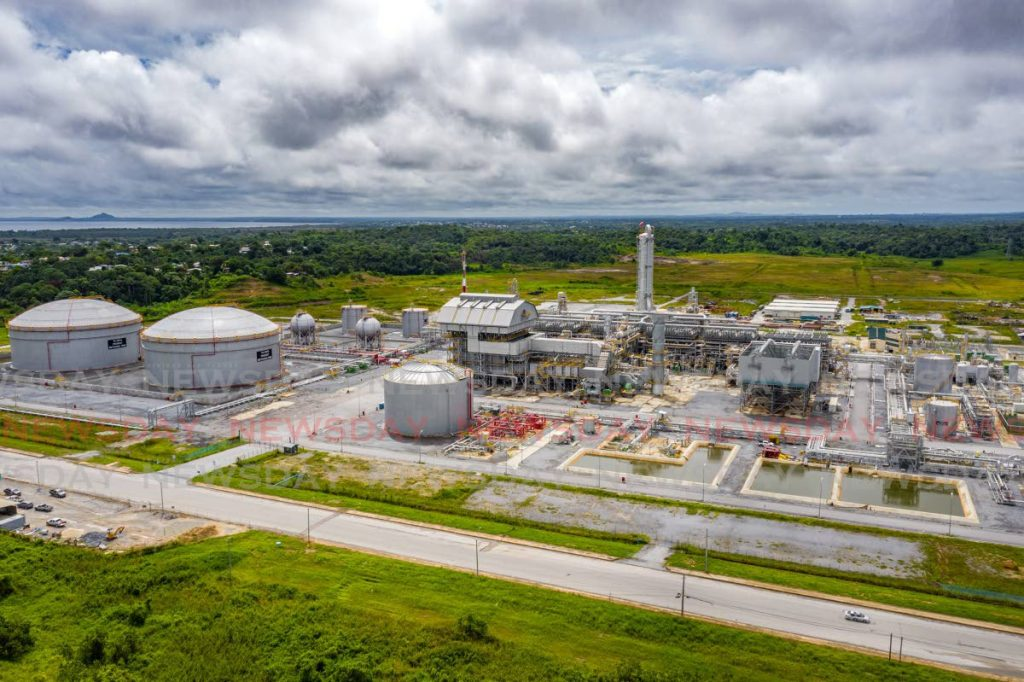 The Caribbean Gas Chemical Limited (CGCL) plant located on the Union Industrial  Estate, La Brea. PHOTO BY JEFF MAYERS -