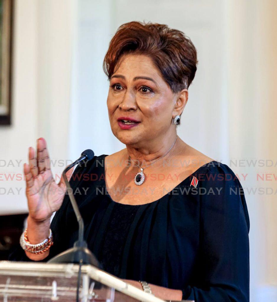 Opposition Leader Kamla  Persad-Bissessar  -SUREASH CHOLAI