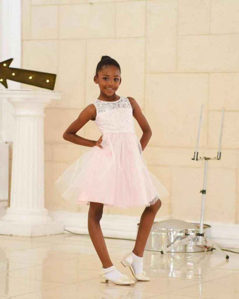 Nine-year-old Dakota Corbie has been dancing since she was three years old. She want's to be a fashion designer when she grows up. -