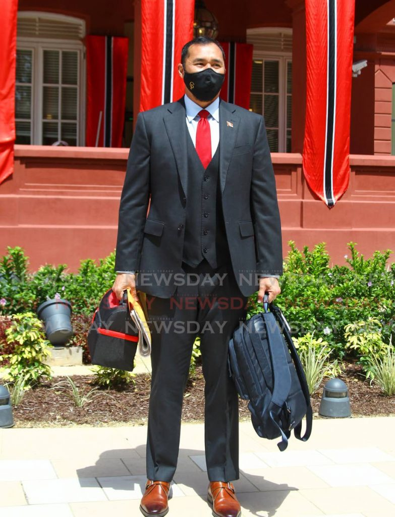 National Security Minister Stuart Young at the opening of Parliament on August 28. FILE PHOTO -