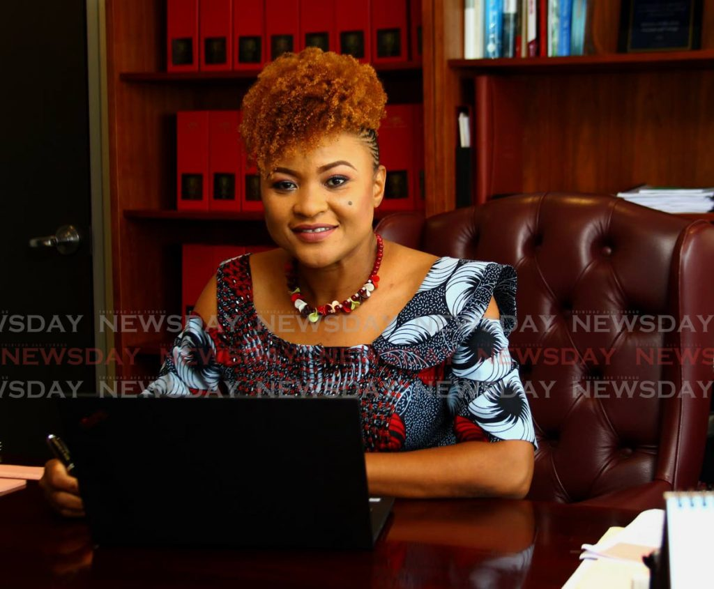 Education Minister Dr Nyan Gadsby-Dolly - ROGER JACOB