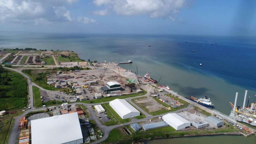File photo: La Brea Industrial Estate and the Port of Brighton. Photo courtesy National Energy Corporation.  -