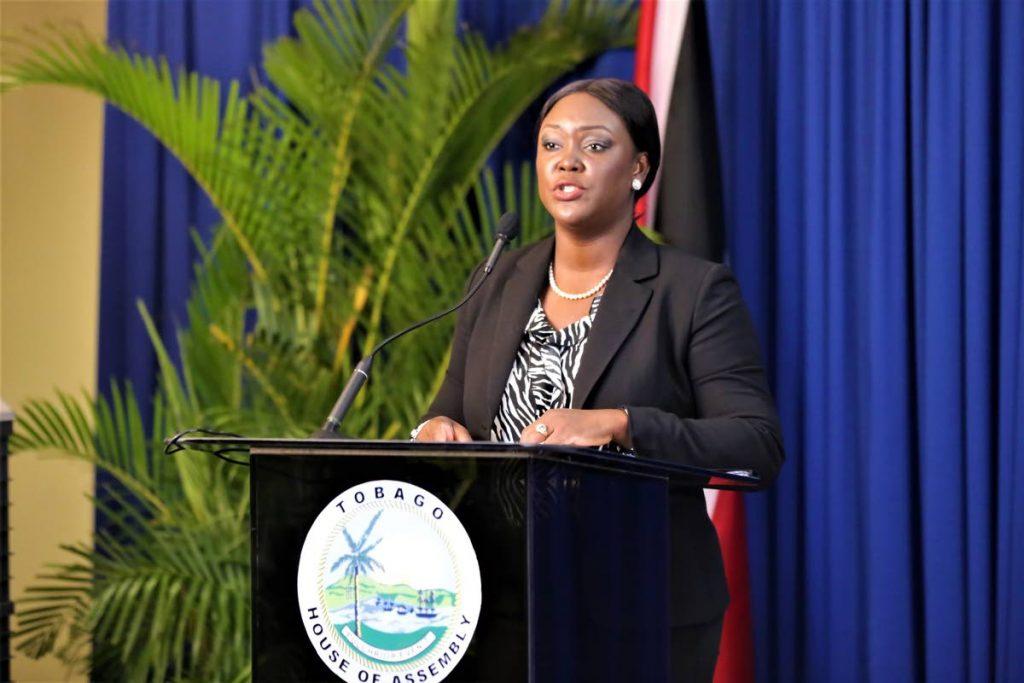 Secretary of Health, Wellness and Family Development Tracy Davidson-Celestine. PHOTO COURTESY THA -
