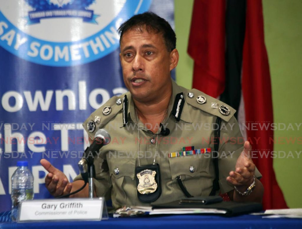 Commissioner of Police Gary Griffith - Photo by Sureash Cholai-