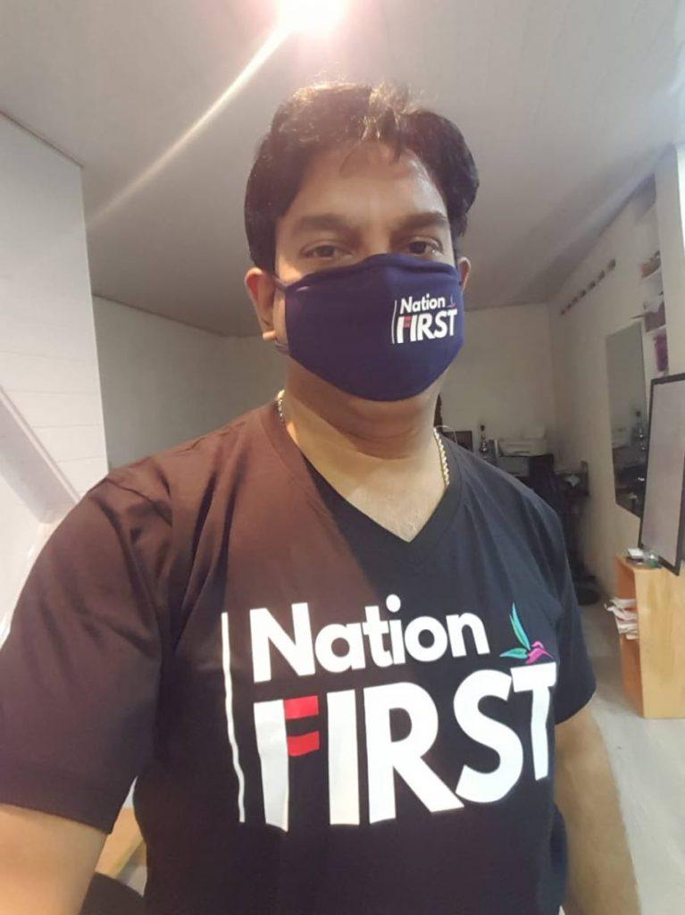 Dr Navi Muradali, chairman of the online forum Nation First. - Courtesy Dr Navi Muradali